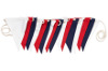 Turquaz Red, White & Blue Bunting