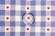 Button from Amish Bed Linen - Blue