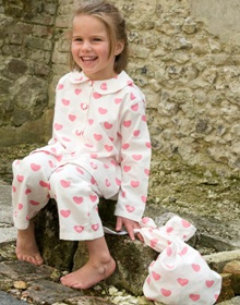 Turquaz Children's Heart Pyjamas